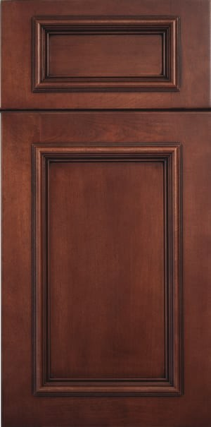 Andover 5pc Maple Briarwood Brown Flat Til Mar Design