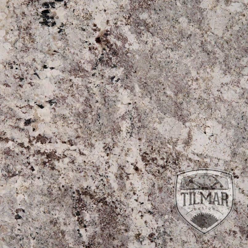 Alaska White Granite Til Mar Design