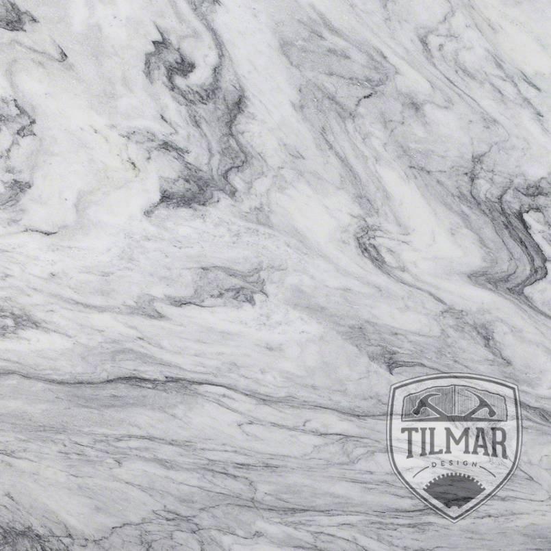 Arabescus White Marble Til Mar Design
