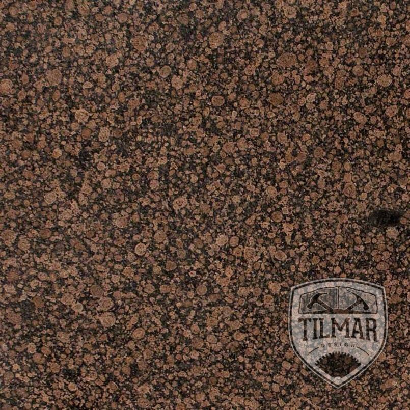 Brown Granite Slabs : Baltic brown granite til mar design