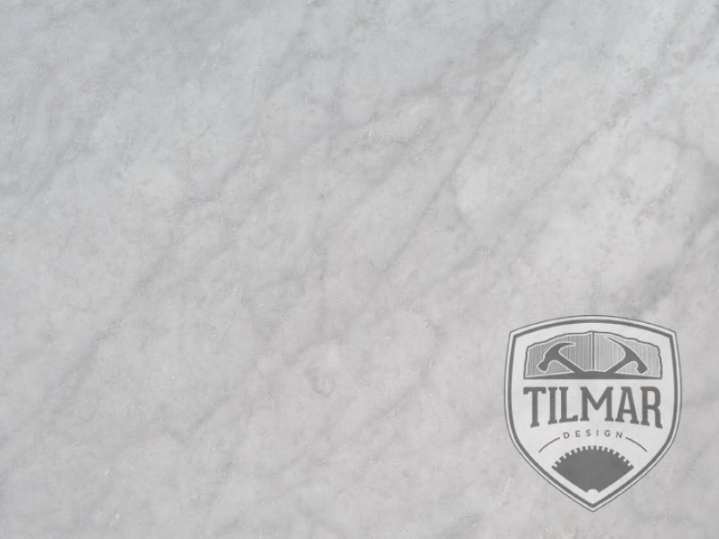 Carrara white marble til mar design for How to care for carrara marble countertops